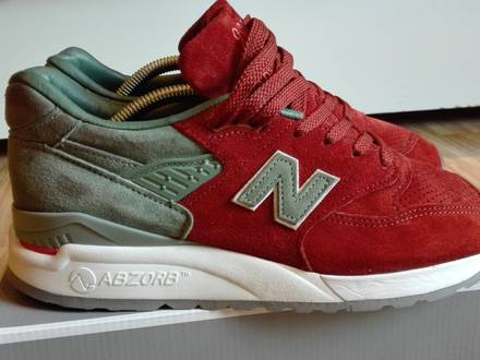 New Balance 998 Concepts Rivalry - photo 2/6