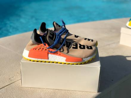 Adidas nmd human race Pharrell Williams - photo 1/5