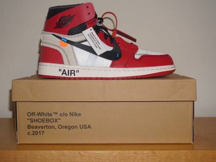 "Nike Air Jordan 1 x OFF-WHITE - ""THE TEN"" - photo 1/8"