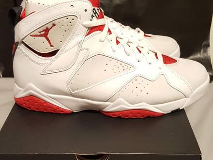 Nike air Jordan 7 last retro hare size 10us - photo 1/5