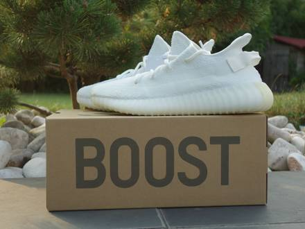 Adidas <strong>yeezy</strong> boost <strong>350</strong> v2 <strong>cream</strong> <strong>white</strong> - photo 1/5
