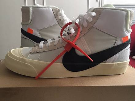 Nike x Off white blazer mid 9US - photo 1/5