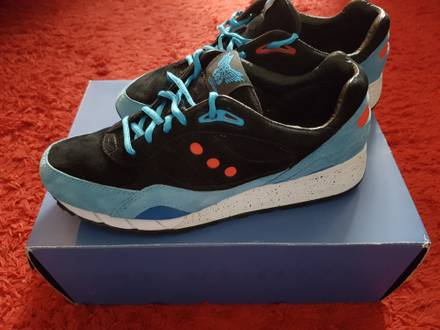 """<strong>Saucony</strong> x Footpatrol Shadow 6000 """"Only in Soho"""" - VNDS 9/10 - OG Box - photo 1/8"""