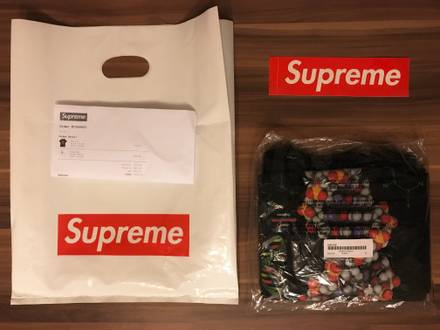 Supreme DNA Tee 'Black' Sz. XL • DS - photo 1/5