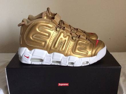 Nike x <strong>Supreme</strong> Air More <strong>Uptempo</strong> - photo 1/5