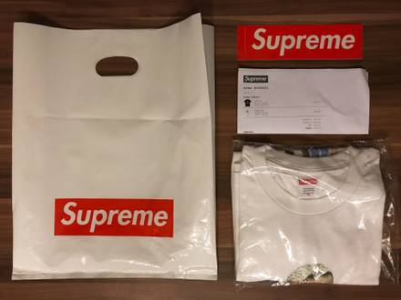 Supreme Kiss Tee 'White' Sz. XL • DS - photo 1/5