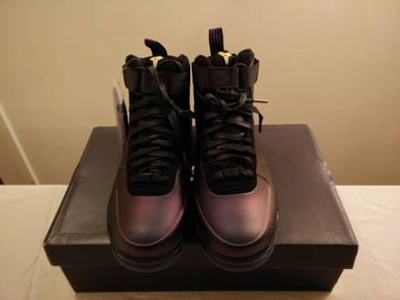 Nike Air Force 1 Foamposite QS Kobe Bryant Eggplant - photo 1/8