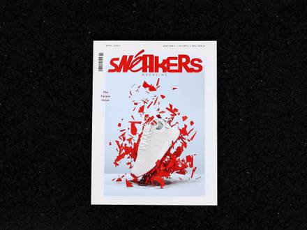 Sneakers Magazine Mag issue #34 no 2/2017 print sneaker freaker crepe city NEW - photo 1/8