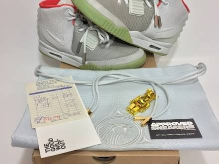 best loved d99e4 3da1b Wolf Grey Pure Platinum 508214-010. June 9th Nike Air Yeezy 2 platinum grey  wolf1. US11 2099.00€ sold ·  strong  ...