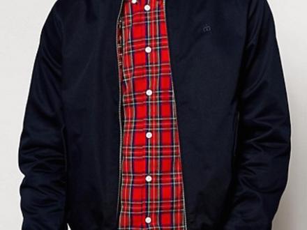 MERC Harrington jacket - Size M (Medium), darkblue Fred Perry Ben Sherman Farah - photo 1/5