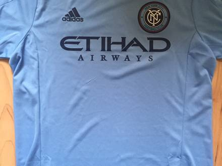 New York City FC Soccer Home Jersey NYCFC Brand New size L - photo 1/5