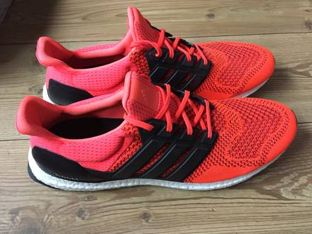 Ultra Boost 1.0 Solar Red size 49 1/3 US14 yeezy <strong>nmd</strong> - photo 1/5