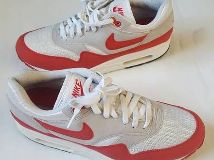 "Nike Air Max 1 Og Red ""HOA"" us 9.5 / 43 eu - photo 1/5"