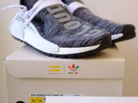 Adidas NMD HUMAN RACE AC7359 yeezy off white nike - photo 1/5