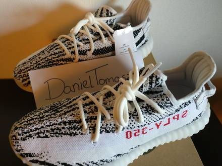58% Off Yeezy boost 350 v2 'Zebra' raffle links cp9654 canada Purple
