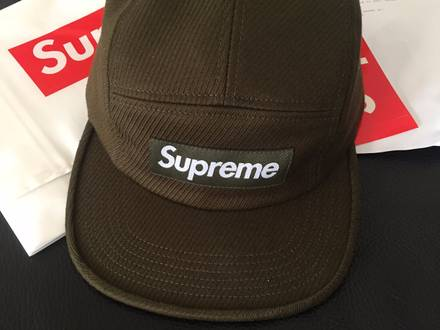 SUPREME CAVALRY TWILL CAMP CAP OLIVE DS SS16 - photo 1/5