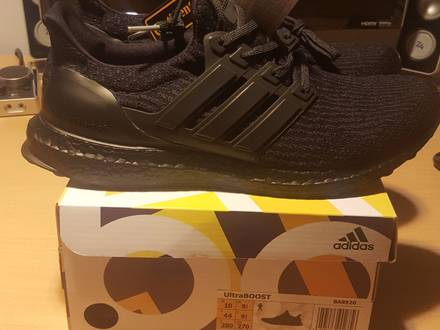 Adidas UltraBOOST 3.0 Triple Black 1.0 BA8920 - photo 1/6