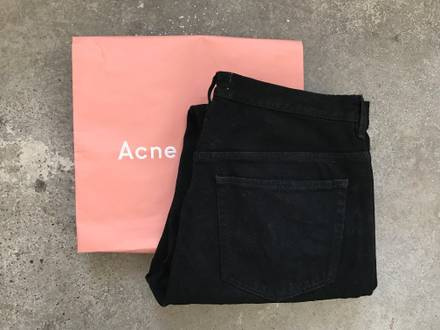 Acne studios Jeans Van Black 33/34 - photo 1/5