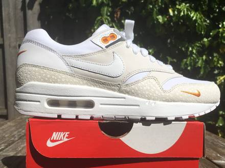 Nike air max 1 premium kumquat mini swoosh safari - photo 1/5