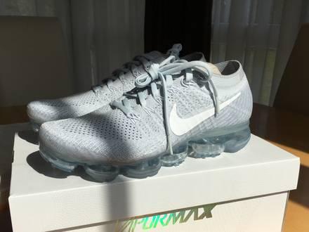 Nike Vapormax Flyknit Pure Platinum - photo 1/5