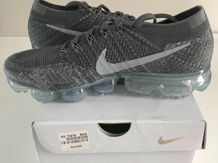 nie <strong>vapormax</strong> flyknit asphalte neuf 9,5 43 - photo 1/5