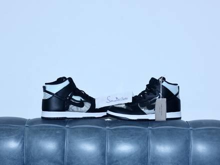 Nike dunk Hi cdg <strong>comme</strong> <strong>des</strong> garçons US9 - photo 1/5