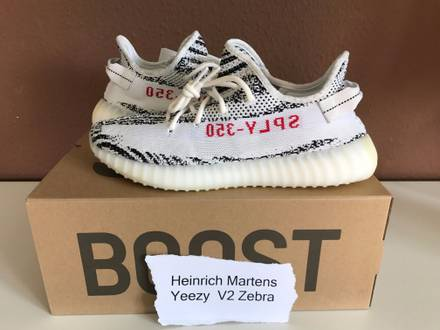 <strong>YEEZY</strong> BOOST 350 V2 <strong>ZEBRA</strong> - photo 1/8