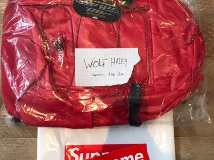 Supreme FW17 Backpack (Red) - photo 1/5