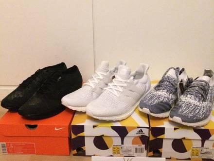Adidas ultra boots, Nike flyknit - photo 1/7