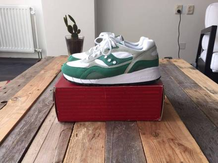 <strong>Saucony</strong> X A.R.C. Shadow 6000 White Green - photo 1/7