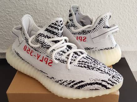 ADIDAS <strong>YEEZY</strong> BOOST 350 V2 <strong>ZEBRA</strong> 2.0 - photo 1/6