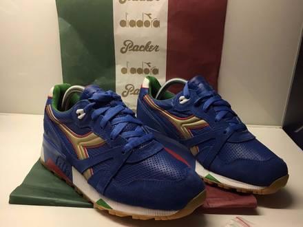 "Packer shoes x <strong>diadora</strong> n9000 ""azzurri"" - us7 - photo 1/5"