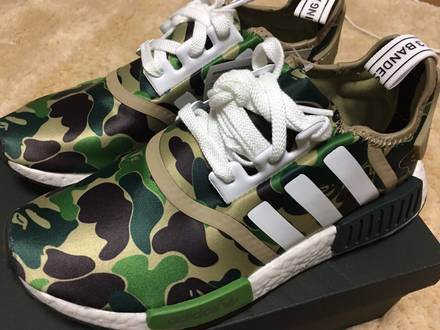 adidas NMD R1 BAPE - photo 1/6