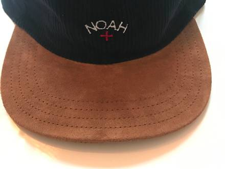 NOAH NYC (Cordury/Leather) 6-Panel Cap - photo 1/3
