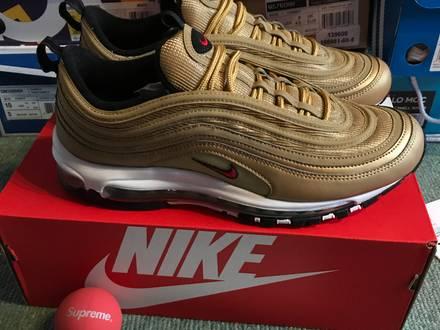 Nike <strong>Air</strong> <strong>Max</strong> <strong>97</strong> <strong>Gold</strong> QS - photo 1/5