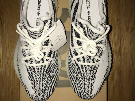 Adidas <strong>Yeezy</strong> Boost 350 V2, <strong>Zebra</strong>, US8.5 - photo 3/8