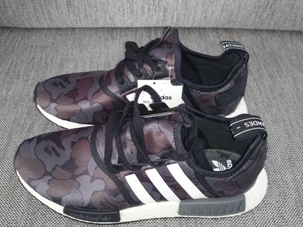 Adidas NMD Runner R1 Bape - Black Camo - <strong>Bathing</strong> <strong>Ape</strong> - Size US10.5 / EU44 2/3 - New - DS - photo 1/5