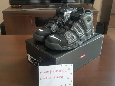 <strong>SUPREME</strong> X NIKE AIR MORE <strong>UPTEMPO</strong> - photo 1/5