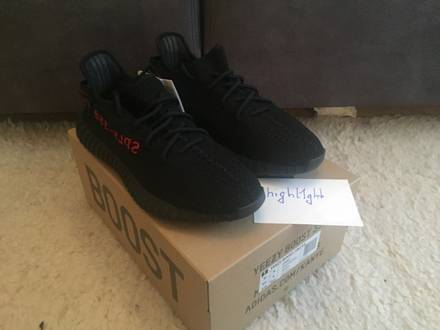 Yeezy Boost 350 V2 Bred US 9.5 - photo 1/5