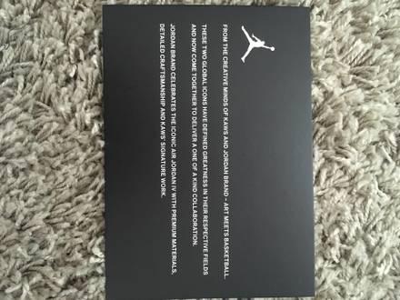 Kaws x Air Jordan 4 cool grey - photo 1/6