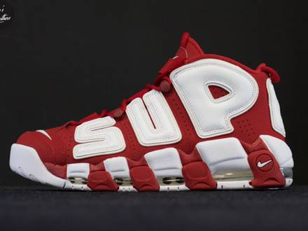 Nike Suptempo Red (more <strong>uptempo</strong> x <strong>Supreme</strong>) - photo 1/5