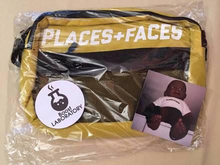 PLACES + FACES POUCH / SHOULDER BAG REFLECTIVE YELLOW DS - photo 1/5