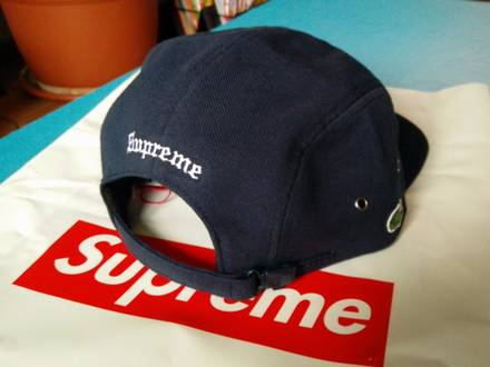 Supreme/LACOSTE Pique Camp Cap - photo 1/5