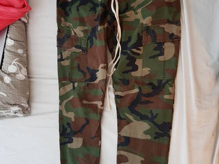 fear of god pacsun camo size large - photo 1/5
