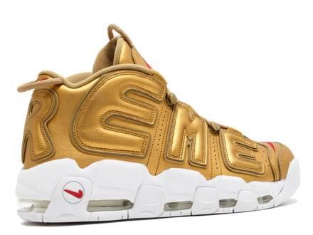 Nike <strong>Uptempo</strong> <strong>Supreme</strong> Suptempo Gold - photo 1/5