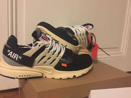 nike presto the ten off white - photo 1/5