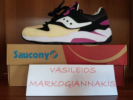 <strong>Saucony</strong> GRID 9000 Black/Cream (RETRO-VINTAGE) - photo 1/6
