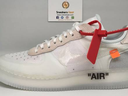 AIR FORCE 1 OFF WHITE THE TEN - photo 1/5