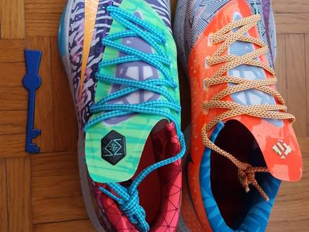 Nike KD 6 Premium What The - photo 1/5