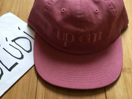 Supreme overlap 6 panel pink - photo 1/5